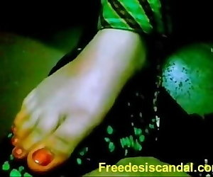 porn Hot Footjob By Desi Girl 2 min, desi , mallu  couple