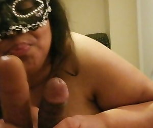 porn BBW Wife Cuckold SPH husband 6 inch.., desi , milf  blowjob