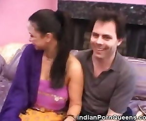 interracial clips indian