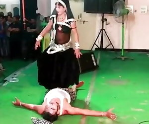 porn Indian Lady Trampling Man in Dance in.. fetish