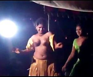porn Stage dance in AP india.., telugu