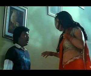 porn Lakshmi Rai In Red Saree Lawrence And.., xxx movies