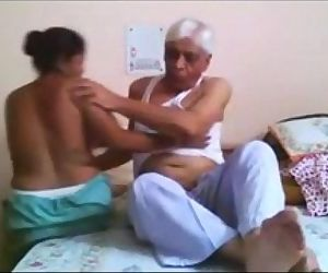 porn Desi Maid Fucked Hard By Old Uncle - 4.., desi , amateur